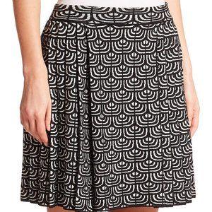 New M Missoni Geometric Jacquard Pleated Skirt